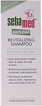 Düfte, Parfümerie und Kosmetik Revitalisierendes Shampoo für trockene, empfindliche Kopfhaut - Sebamed Anti-dry Revitalizing Shampoo