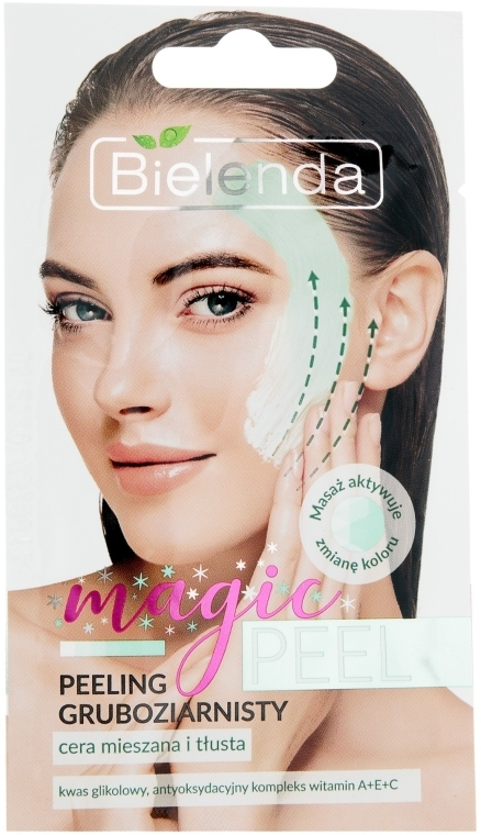 Grobkorn-Peeling für fettige und Mischhaut - Bielenda Magic Peel — Bild N1