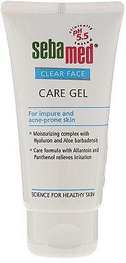 Gesichtsreinigungsgel - Sebamed Clear Face Gel Moisturizing And Soothing Gel — Bild N1