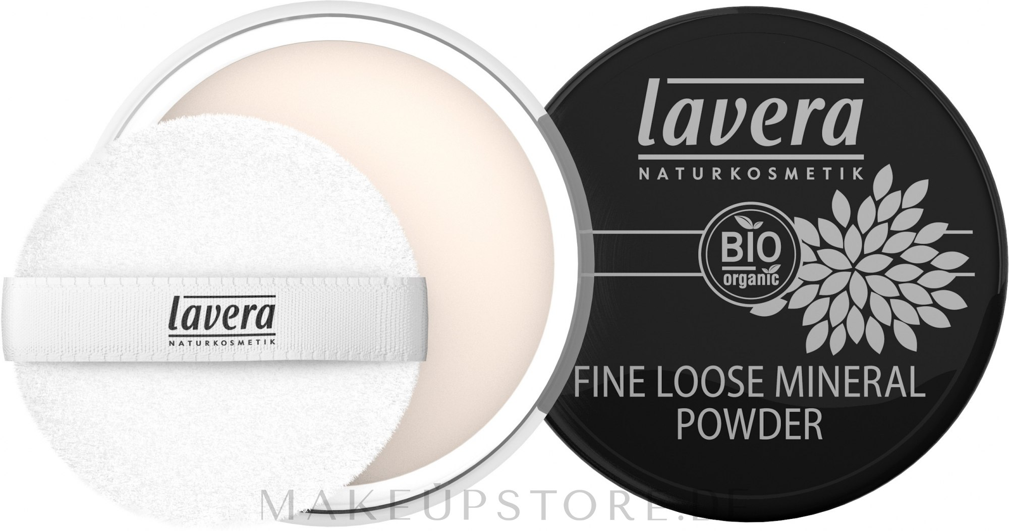 Feiner loser Mineralpuder - Lavera Fine Loose Mineral Powder — Bild 8 g
