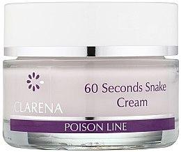Düfte, Parfümerie und Kosmetik 60-Sekunden Gesichtscreme mit Schlangengift - Clarena Poison Line 60 Seconds Snake Cream