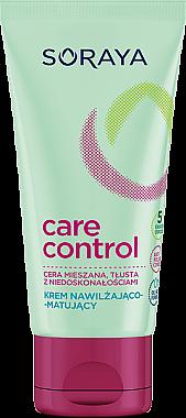 Feuchtigkeitsspendende und mattierende Gesichtscreme - Soraya Care Control — Bild N1