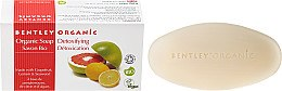 Düfte, Parfümerie und Kosmetik Detox-Seife mit Grapefruit, Zitrone und Algen - Bentley Organic Body Care Detoxifying Soap Bar