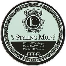 Düfte, Parfümerie und Kosmetik Modellierende Haarpaste mit Matt-Effekt Extra starker Halt - Lavish Care Styling Mud Extra Matte Hold