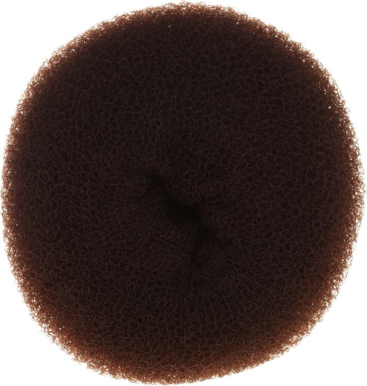 Professioneller Haar-Donut 15x6,5 cm braun - Ronney Professional Hair Bun 053 — Bild N1