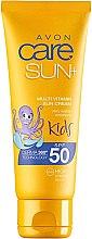 Wasserfeste Sonnenschutzcreme für Kinder SPF 50 - Avon Sun+ Kids Multivitamin Sun Cream SPF50 — Bild N1