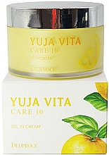 Düfte, Parfümerie und Kosmetik Verjüngende Gesichtscreme mit Zitrusfrüchte - Deoproce Yuja Vita Care 10 Oil in Cream