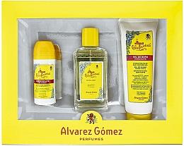 Düfte, Parfümerie und Kosmetik Alvarez Gomez Agua De Colonia Concentrada - Duftset (Eau de Cologne 150ml + Duschgel 230ml + Deo Roll-on 75ml)