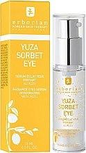 Düfte, Parfümerie und Kosmetik Erfrischendes Serum für die Augenpartie mit Yuzu, Pfirsichkern- und Süßholzwurzelextrakt - Erborian Yuza Sorbet Eye