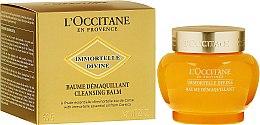 Düfte, Parfümerie und Kosmetik Gesichtsreinigungsbalsam - L'Occitane Immortelle Divine Cleansing Balm