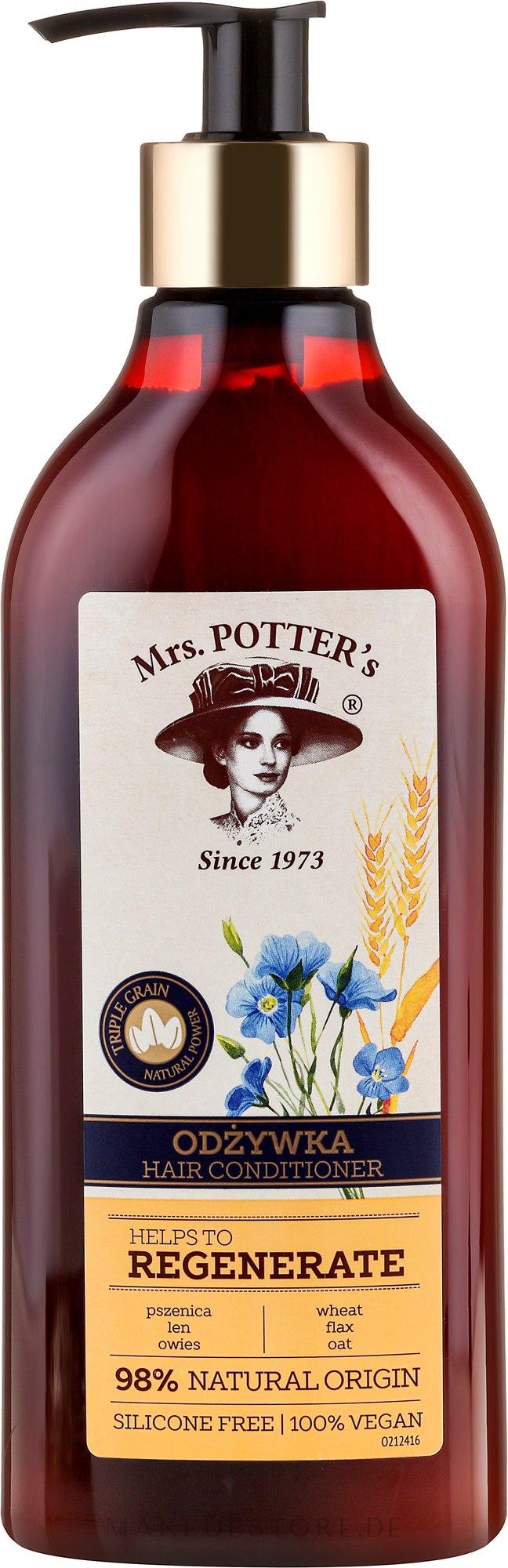 Regenerierende Haarspülung - Mrs. Potter's Helps To Regenerate Hair Conditioner — Bild 390 ml