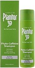 Düfte, Parfümerie und Kosmetik Phyto-Coffein-Shampoo gegen Haarausfall für feines und brüchiges Haar - Plantur 39 Coffein Shampoo