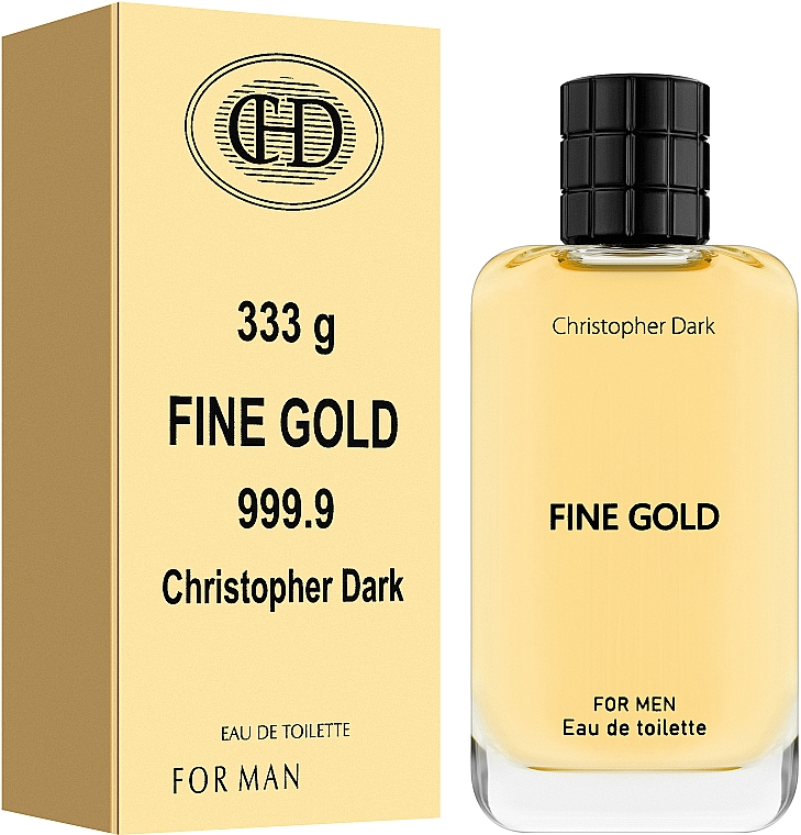 Christopher Dark Fine Gold - Eau de Toilette