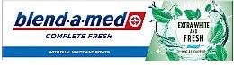 Düfte, Parfümerie und Kosmetik Zahnpasta Complete Fresh Extra White and Fresh - Blend-a-med Complete Fresh Extra White & Fresh