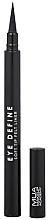 Düfte, Parfümerie und Kosmetik Eyeliner - MUA Eye Define Soft Tip Felt Liner