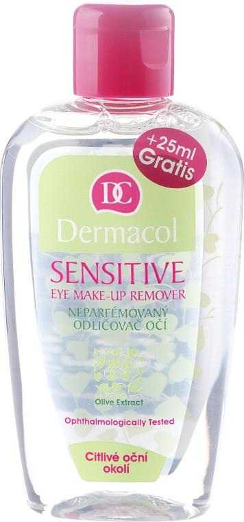 Augen-Make-up Entferner mit Olivenextrakt - Dermacol Sensitive Eye Make-Up Remover — Bild N1