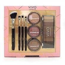 Düfte, Parfümerie und Kosmetik Make-up Set für Gesicht und Augen - Vivo London Natural Collection