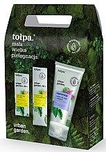Düfte, Parfümerie und Kosmetik Gesichtspflegeset - Tolpa Urban Garden (Gesichtscreme 40ml + Augencreme 10ml + Körperlotion 50ml)