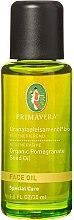 Düfte, Parfümerie und Kosmetik Regenerierendes Bio Granatapfelsamenöl für das Gesicht - Primavera Organic Pomegranate Seed Face Oil