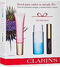 Düfte, Parfümerie und Kosmetik Make-up Set (Augenkontur-Cremegel 15ml + Make-Up Entferner 30ml + Mascara 3.5ml) - Clarins Multi Active Yeux Set