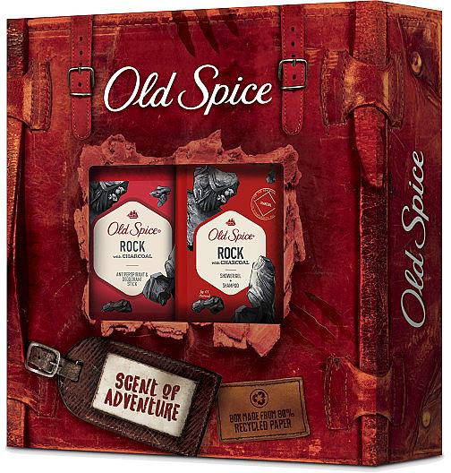 Körperpflegeset - Old Spice Rock Adventurer (Deostick 50g + Duschgel 250ml) — Bild N1