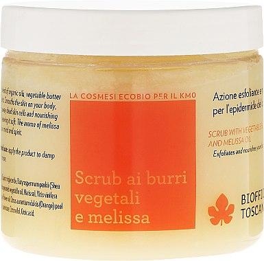 Glättendes Körperpeeling - Biofficina Toscana Melissa Body Scrub — Bild N1
