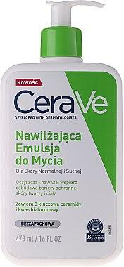 Reinigungs Creme-Gel für Gesicht und Körper mit 3 essentiellen Ceramiden - CeraVe Hydrating Cleanser — Bild N4