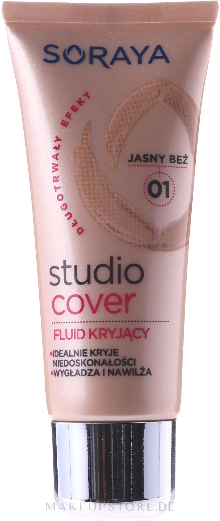 Deckendes Make-up mit Vitamin E - Soraya Studio Cover Make-up Cover up — Bild 01