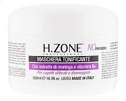 Düfte, Parfümerie und Kosmetik Pflegende Maske für strapaziertes Haar mit Arganöl und Vitamin B6 - H.Zone Toning Hair Mask