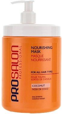 Pflegende Haarmaske mit Kokosnuss - Prosalon Hair Care Mask — Bild N1