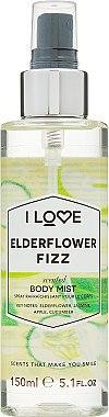 Erfrischender Körpernebel mit Blumenduft - I Love... Elderflower Fizz Body Mist — Bild N1