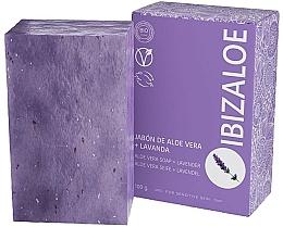 Düfte, Parfümerie und Kosmetik Seife mit Aloe Vera und Lavendel für empfindliche Haut - Ibizaloe Aloe Vera Soap Lavender