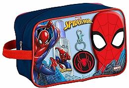 Düfte, Parfümerie und Kosmetik Marvel Spiderman - Duftset (Eau de Toilette 90ml + Duschgel 300ml + Schlüsselanhänger + Kosmetiktasche)