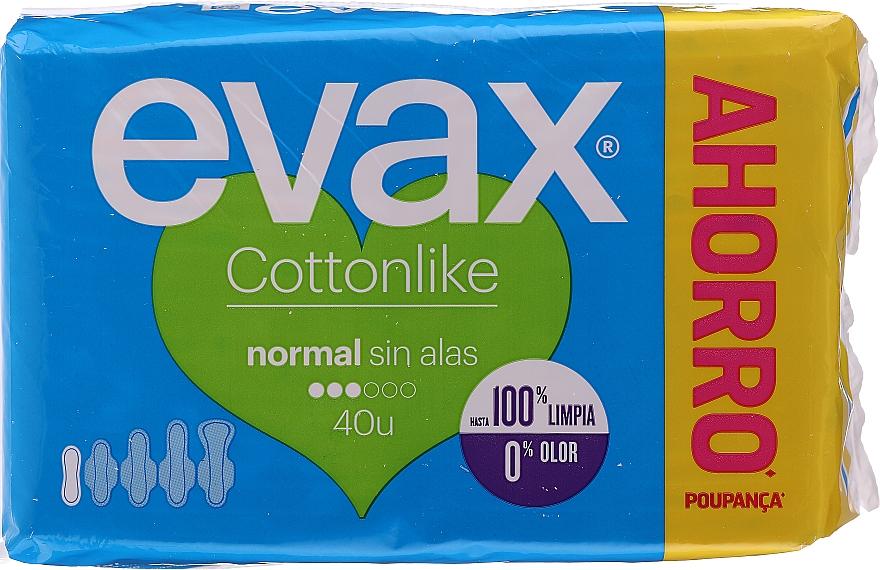 Hygiene-Damenbinden Normal 40 St. - Evax Cottonlike — Bild N1