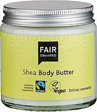 Düfte, Parfümerie und Kosmetik Körperbutter mit Shea - Fair Squared Body Butter Shea