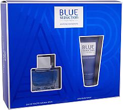 Düfte, Parfümerie und Kosmetik Blue Seduction Antonio Banderas - Duftset (Eau de Toilette 50ml + After Shave Balsam 50ml)