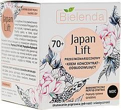 Düfte, Parfümerie und Kosmetik Regenerierende Anti-Falten Nachtcreme Konzentrat 70+ - Bielenda Japan Lift Face Cream 70+