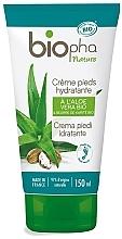 Düfte, Parfümerie und Kosmetik Feuchtigkeitsspendende Fußcreme mit Aloe Vera und Sheabutter - Biopha Foot Cream