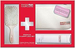Düfte, Parfümerie und Kosmetik Haarpflegeset (Bürste + Shampoo 200ml + Tasche) - Swiss Haircare Premium Haaprflege W3ks Set I