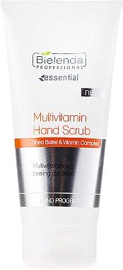 Handpeeling mit Sheabutter und Vitaminen - Bielenda Professional Multivitamin Hand Scrub — Bild N1