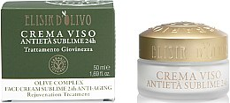 Düfte, Parfümerie und Kosmetik Anti-Aging Gesichtscreme - Erbario Toscano Olive Complex Face Cream Sublime 24H Anti-Aging