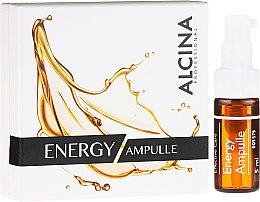 """Düfte, Parfümerie und Kosmetik Gesichtsampulle """"Samtig und vitalisierend"""" für müde und fahle Haut - Alcina Energy Ampulle"""