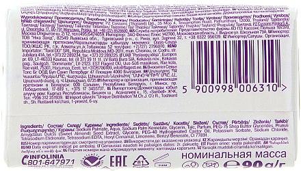 Feuchtigkeitsspendende Cremeseife mit Mandeln und Sheabutter - Luksja Creamy Almond Shea Butt Soap — Bild N2