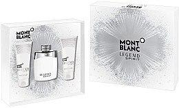 Düfte, Parfümerie und Kosmetik Montblanc Legend Spirit - Duftset (Eau de Toilette/100ml + Duschgel/100ml +After Shave Balsam/100ml)