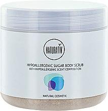 Düfte, Parfümerie und Kosmetik Hypoallergener Körperscrub mit Zucker - Naturativ Hypoallergenic Body Sugar Scrub