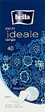 Düfte, Parfümerie und Kosmetik Slipeinlagen Panty Ideale Ultra Thin Large Stay Softi 40 St. - Bella