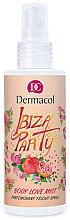 Düfte, Parfümerie und Kosmetik Parfümierter Körpernebel mit Granatapfel- und Himbeeraroma - Dermacol Body Love Mist Ibiza Party