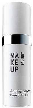 Primer gegen Pigmentflecken LSF 30 - Make up Factory Anti Pigmentation Base SPF30 — Bild N1
