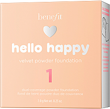 Puder-Foundation - Benefit Hello Happy Velvet Powder Foundation — Bild N3