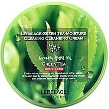 Düfte, Parfümerie und Kosmetik Feuchtigkeitsspendende Gesichtsreinigungscreme mit grünem Tee - Lebelage Green Tea Moisture Cleaning Cleansing Cream